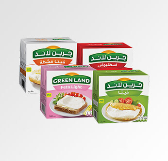 Greenland Cheese Assorted Types 500 Gr.