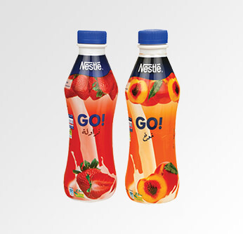 Nestlé Fruit Delight Peach or Strawberry 380 Ml.