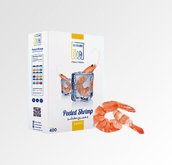 Sea Cube Large Shrimps 400 Gr.