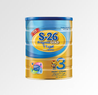 S-26 Progress 3 Gold Baby Milk 1-3 Years 400 Gr.