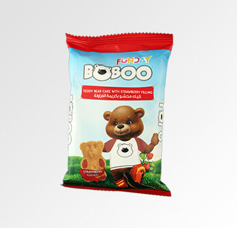 6 Funday BoBoo Teddy Bear Cake Assorted Types