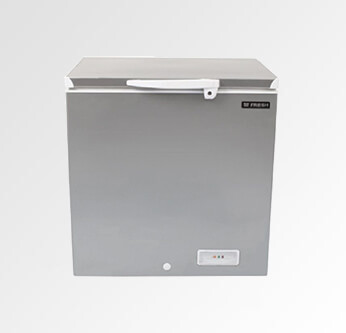 Fresh Deep Freezer Silver 180 L. (FDF220D)