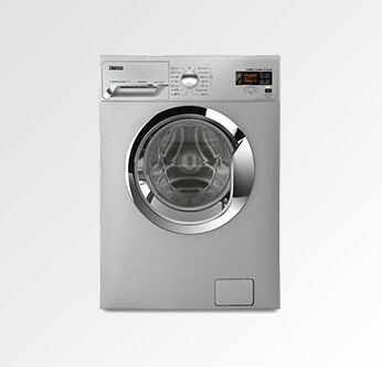 Zanussi Silver Washing Machine 7 Kg. (ZWF7240SXV)
