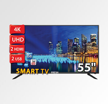 Fresh LED Ultra Smart 55 Inch (55LU731)