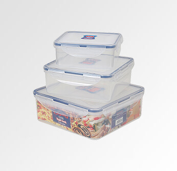 Zahran Silicon Container Set 3 Pcs.